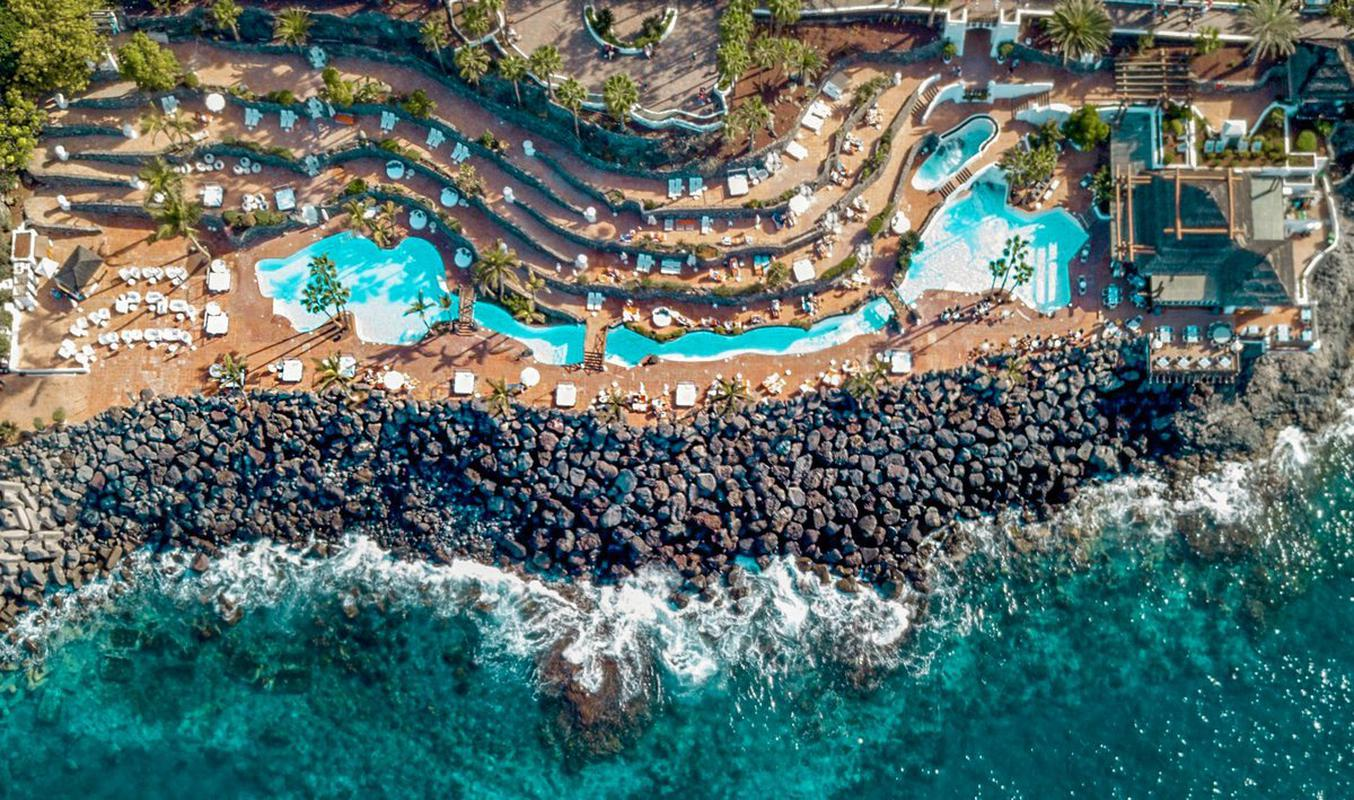 Pools und beach klub hotel jardín tropical tenerife